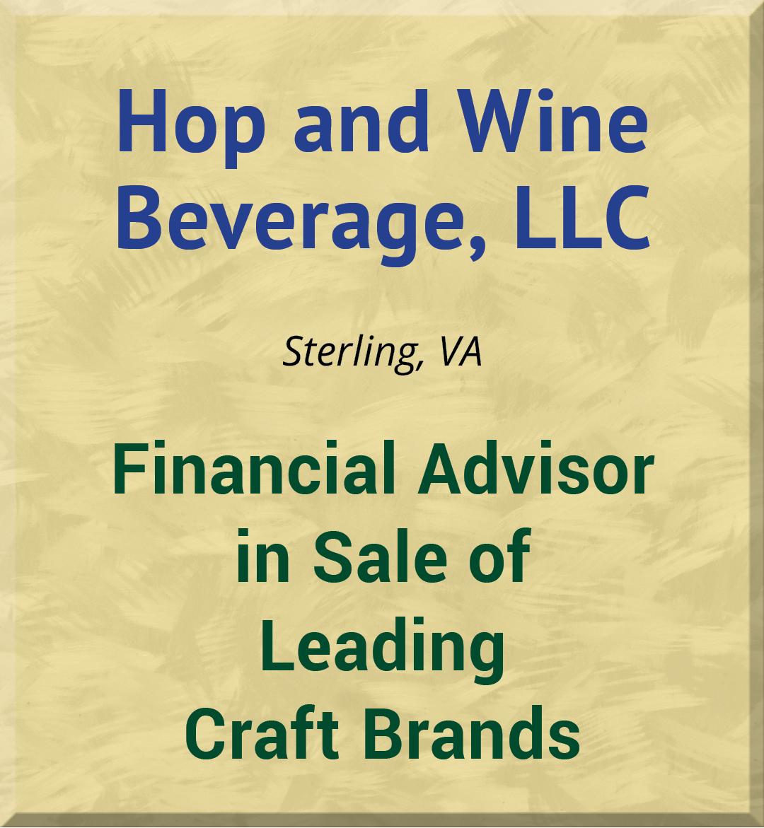 Hop and Wine Beverage, LLC