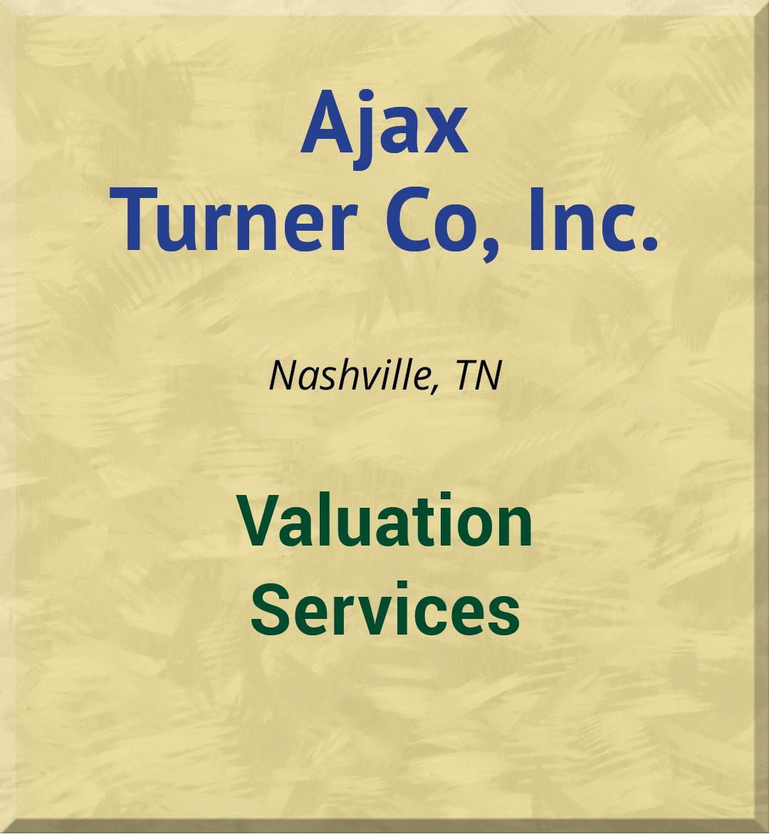 Ajax Turner Co, Inc.