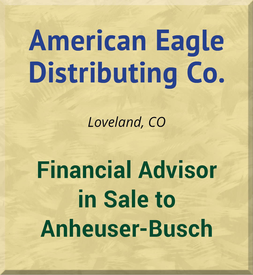 American Eagle Distributing Co.