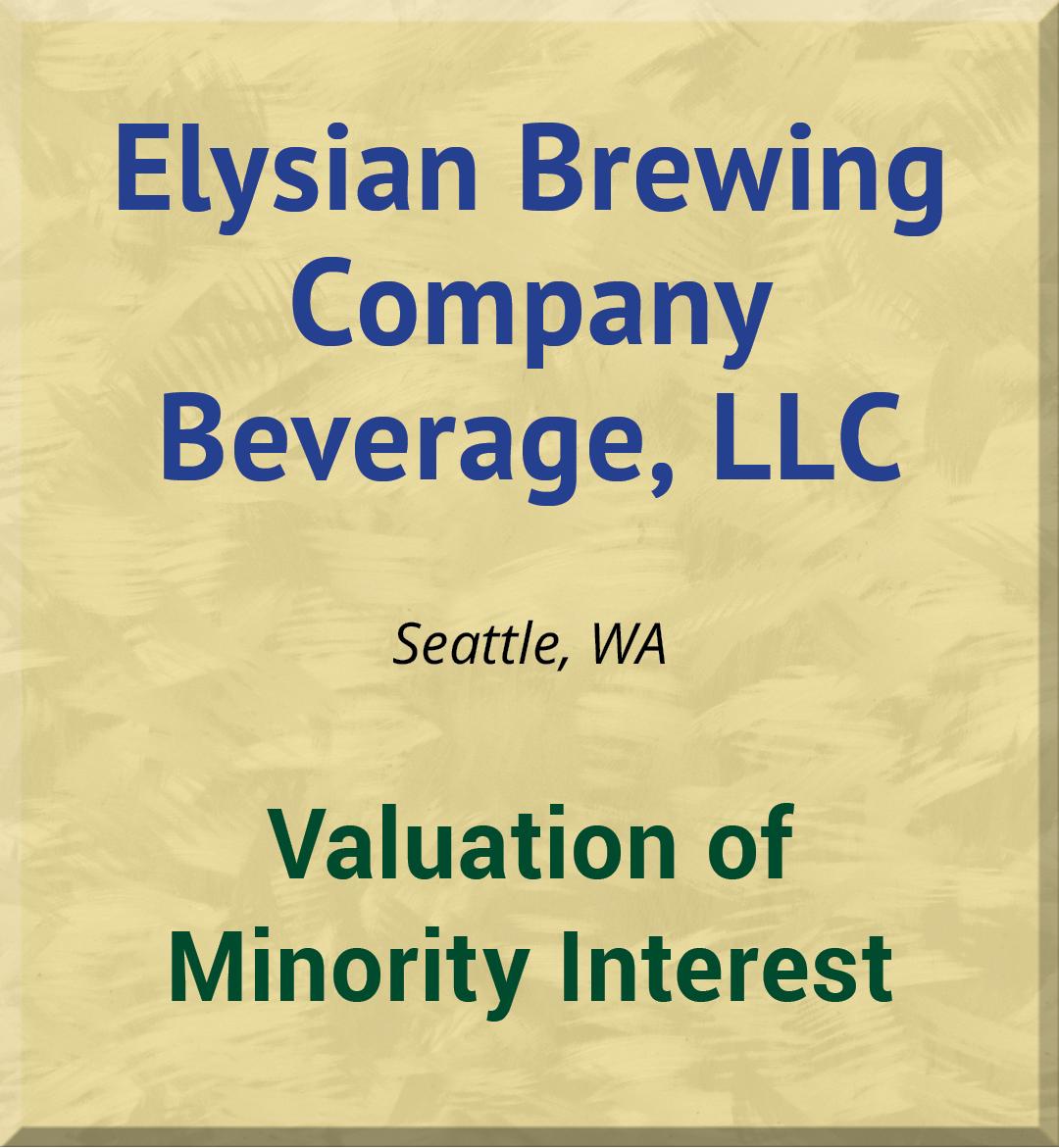 Elysian Brewing Company Beverage, LLC