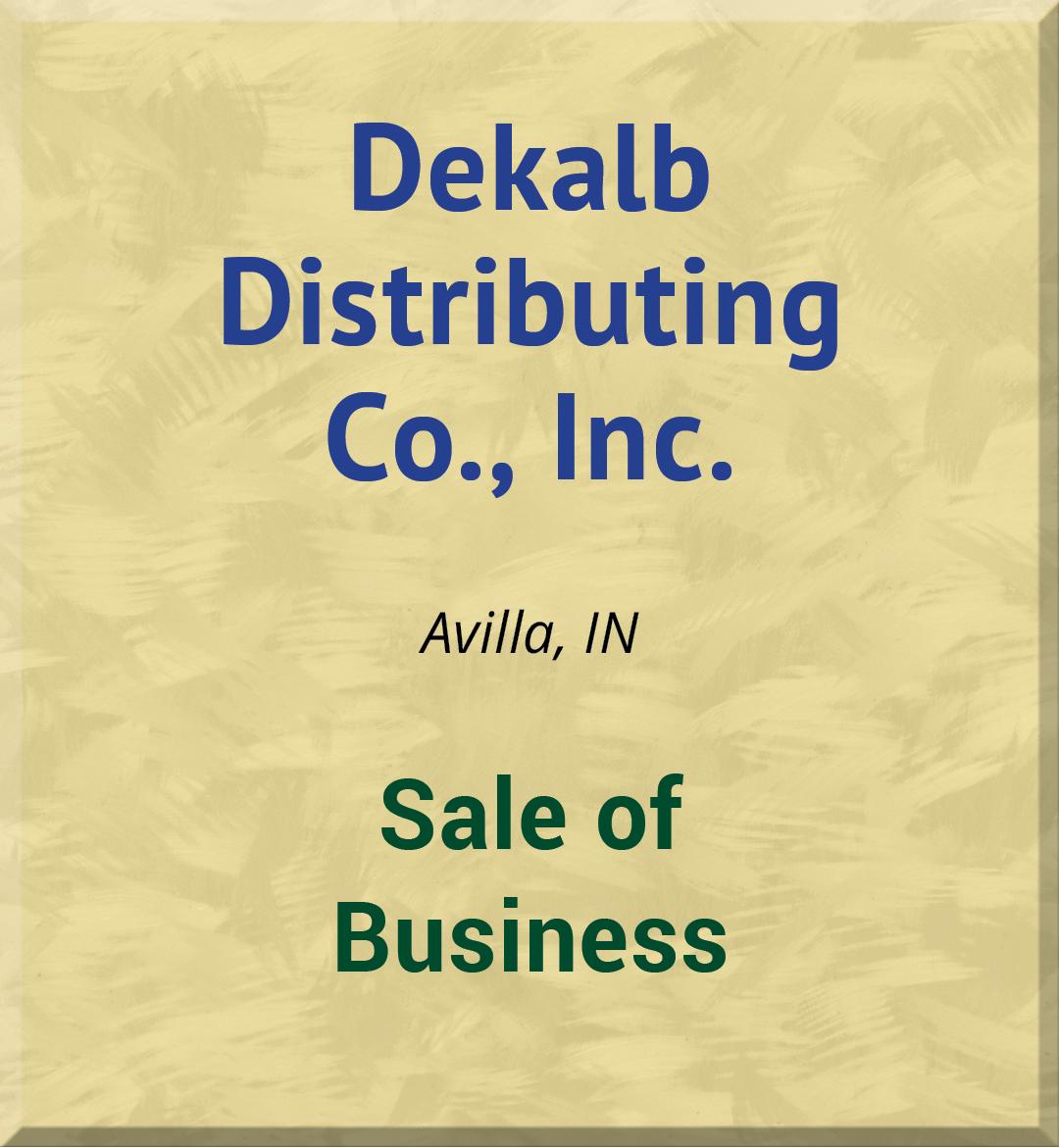Dekalb Distributing Co., Inc.