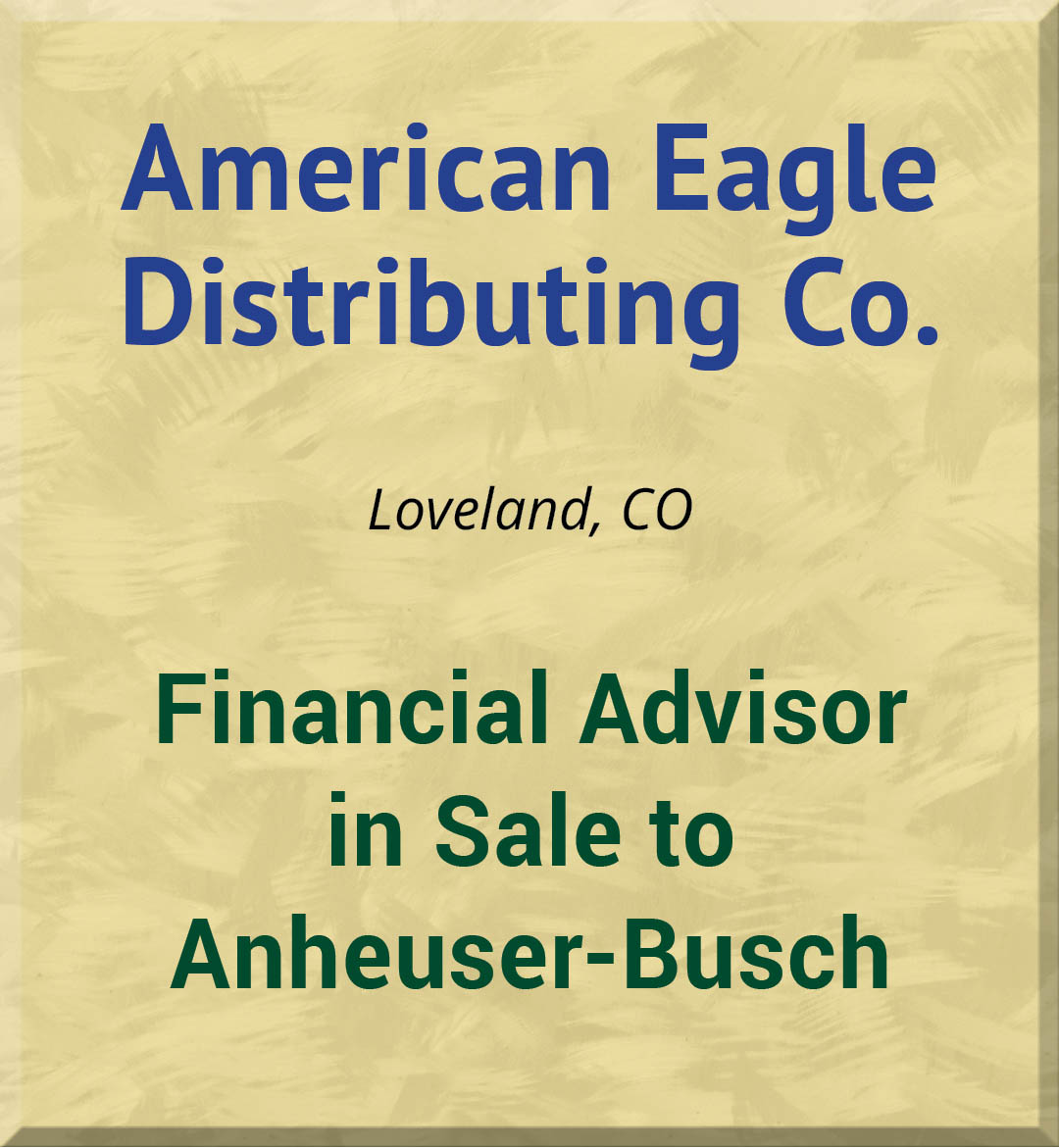 American Eagle Distributing Co.