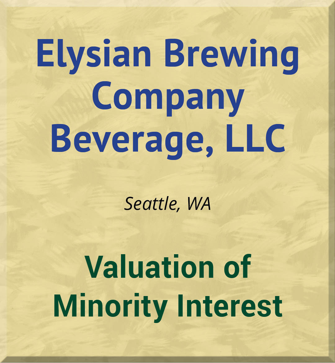 Elysian Brewing Company Beverage, LLC